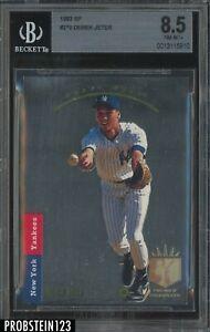 """1993 SP Foil #279 Derek Jeter Yankees RC Rookie HOF BGS 8.5 """" SHARP CORNERS """""""