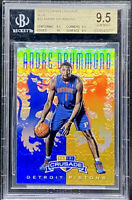 Andre Drummond 2012-13 Panini Crusade Blue Rookie RC True Gem Plus BGS 9.5 POP 3