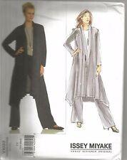 Vogue Sewing Pattern 1022, Issey Miyake Jacket, Pants, Size 8 - 14 Uncut