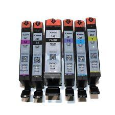 6 Genuine Canon PGI-280 CLI-281 Ink for Canon PIXMA TS8120 TS9120 PGI280 CLI281