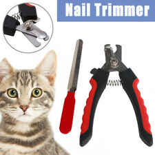 Pet Dog Cat Rabbit Toe Nail Trimmer Grooming File Clippers Claw Scissors Cutter-