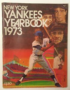 1973 New York Yankees Yearbook