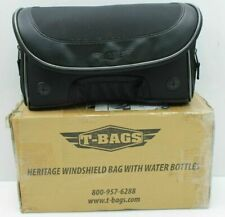 T BAGS WINDSHIELD POUCH BAG BOTTLE HOLSTER HARLEY HERITAGE SOFTAIL  TB3400FLWB
