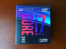 Intel Core i7-8700K Coffee Lake 6-Core 3.7 GHz (4.7 GHz Turbo) LGA 1151