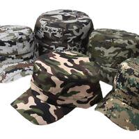 Militär Mütze Herren Damen Camouflage Army Armee Kappe Cap Mütze Hut Militarycap