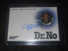 James Bond 007 Autograph Trading Card Count Prince Miller as Nightclub Dancer