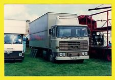 Funfair Truck Photo ~ AJU816T - 1978 ERF Box Van
