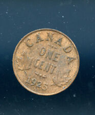 1925 Key Date Canada Small Cent CP537