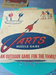 Jarts Missile Lawn Game Vintage BOX Instructions