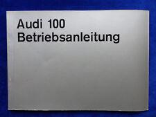Audi 100 S LS MJ 1971 - Typ C1 - Betriebsanleitung Bedienung Handbuch 11.1970