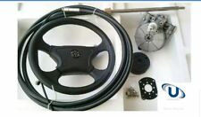NEW 3.96M~13FT BOAT STEERING WHEEL SYSTEM QUICK CONNECT STEERING KIT