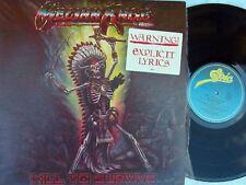 Excellent (EX) Sleeve Promo Metal Music Vinyl Records