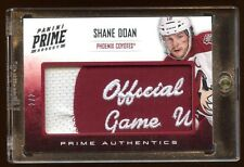 SHANE DOAN 2012 PANINI #D 2/2 PRIME JUMBO PATCH LOGO NHL OFFICLA GAME WORN PATCH