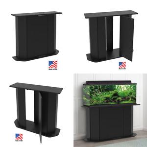 Wood Aquarium Stand 38 to 55 Gallon Fish Tank Storage Cabinet w/ Door Furniture