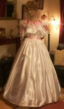 CD ADULT BABY SISSY WHITE EVENING GOWN