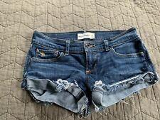Abercrombie Girls Stretch Jean Shorts Size 14