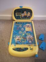 Minions battery operated Super Pinball Game with minion sound effects. Ages 3+.