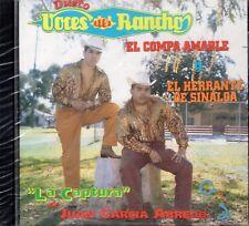 Dueto Voces Del Rancho La Captura de Juan Garcia Abrego CD New Sealed