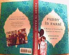 Funny in Farsi: Growing up Iranian in America by F. Dumas,1st edition humor HC