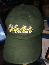 9272d601f29 trucker hat baseball cap CABELA S WORLDS FOREMOST OUTFITTER cool lid old  school