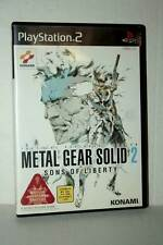 METAL GEAR SOLID 2 SONS OF LIBERTY GIOCO USATO SONY PS2 EDIZIONE JAP DL2 44774