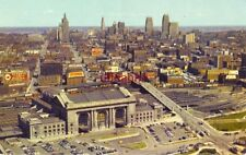 Union Station And Sky Line, Kansas City, Mo color photo by Gene Hook