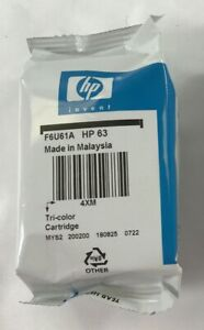 NEW HP 63 Tri-Color Ink Cartridge F6U61A
