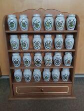More details for franklin mint gloria vanderbilt spice jars