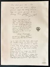 1926 - Litografia (British Legione) Président Lister, Crosfield, Brunel Cohen