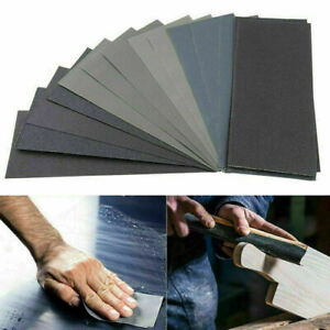 36X Wet and Dry Sandpaper Grade 400 600 800 1000 1200 1500 2000 3000 Grit Paper