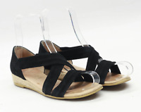Office Womens EU Size 38 Black Sandals