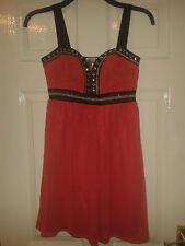 Para Mujer Vestido sin mangas-Lipsy London-Cherish Rosa Con Negro Y Plateado - 10