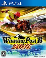 USED ​​PS4 Winning Post 8 2016 Japan import