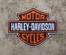 HARLEY-DAVIDSON Patch STAFFA immagine/ricamate 9 x 7 CM NUOVO