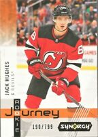 2019-20 UD Synergy Rookie Journey Home RP-16 Jack Hughes /799 New Jersey Devils