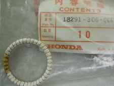 Honda NOS CB200, 1976, Exhaust Pipe Gasket, # 18291-306-000   a8