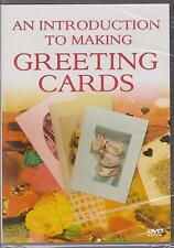 AN INTRODUCTION TO MAKING GREETING CARDS - DVD - NEW