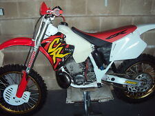 1996 HONDA CR 125 250 RADIATOR SCOOP GRAPHICS, STICKERS
