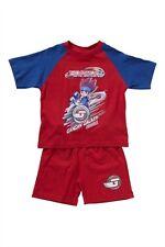 pyjama pyjacourt BEYBLADE rouge/bleu taille 3 ans - neuf