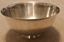 """Reed & Barton #104  8"""" Round Silver Plated Bowl"""