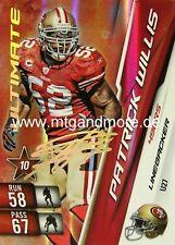 Adrenalyn XL NFL - Patrick Willis - 49ers  #27 Ultimate