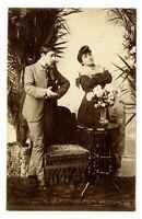 CPA fantaisie Couple série de 3 cartes fantasy postcard