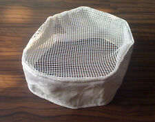 New Chill Skinz Brand White cooling chef cap with venting mesh top - Us Seller!