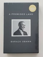 President Barack Obama Signed Deluxe Edition A Promised Land Book With Slipcase