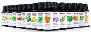 NOW Foods ❤️ Essential Oil Aromatherapy ❤️ Kits or Individual Oils--Buy 2 & SAVE