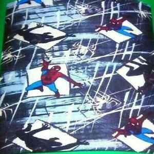 FIZZY MARVEL SPIDERMAN SOFT THROW BLANKET 50 X 60 100% POLYESTER GREAT GIFT!