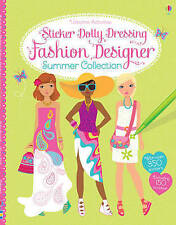 Sticker Dolly Dressing Fashion Designer Summer Collection by Fiona Watt (Paperback, 2013)