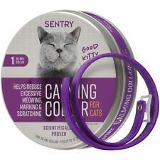 SENTRY CAT Calming Collar Good Behavior Pheromone Separation Anxiety Stress 1ea