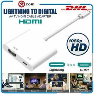1080P Lightning to HDMI Digital AV TV Adapter Kabel Für iPhone 6 7 8 Plus X iPad