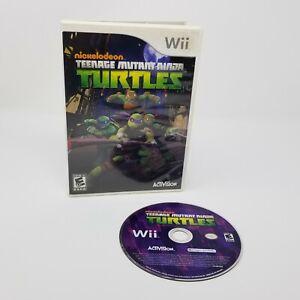 Nickelodeon Teenage Mutant Ninja Turtles TMNT Wii (Nintendo Wii, 2007)